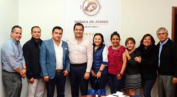 Reitera Oswaldo García Jarquín compromiso de potenciar desarrollo económico de la capital